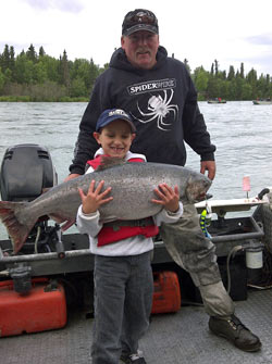 Alaska Fishing Guide Tyland Vanlier