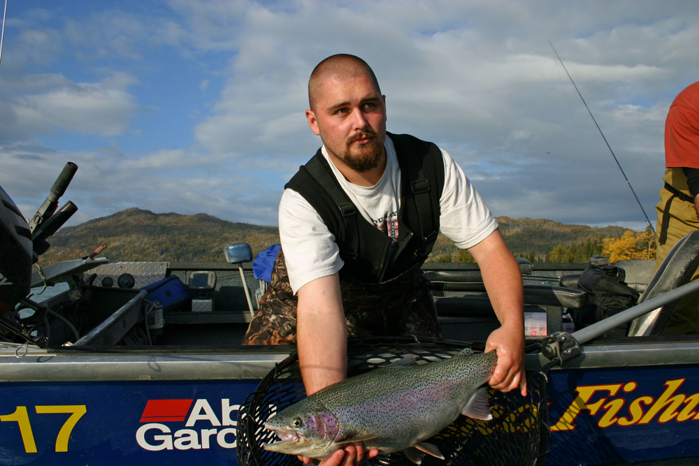 Amazing Trophy Rainbow Trout Fishing Alaska 1000