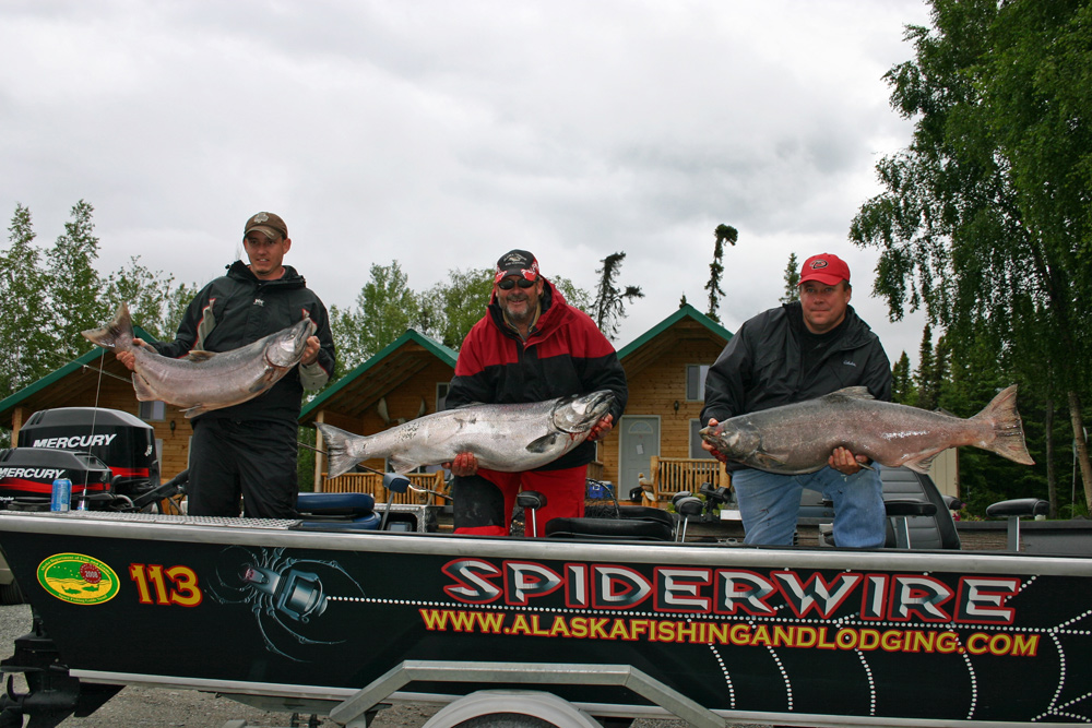 Boat Limits Of Kings With Alaska Guide Tyland Vanlier 1000