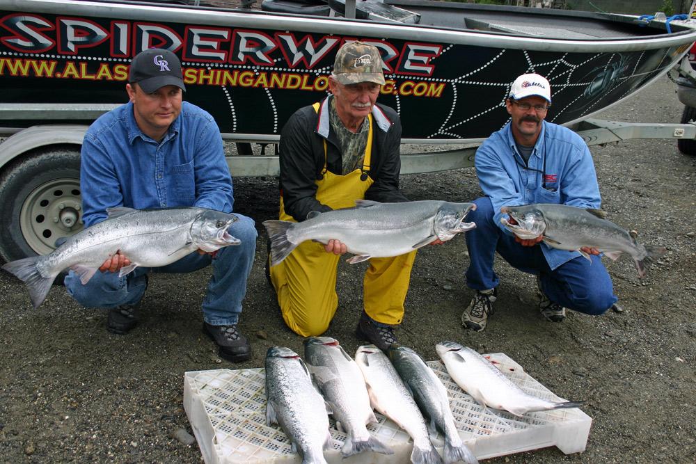 Boat Load Of Silver Salmon At Alaska Fishing And Lodging Alaska 1000