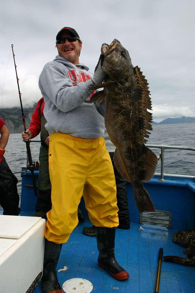 Catch Ling Cod In Alaska On Our Charters 1000