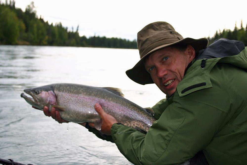 Catch And Release Rainbows In Alaska 1000