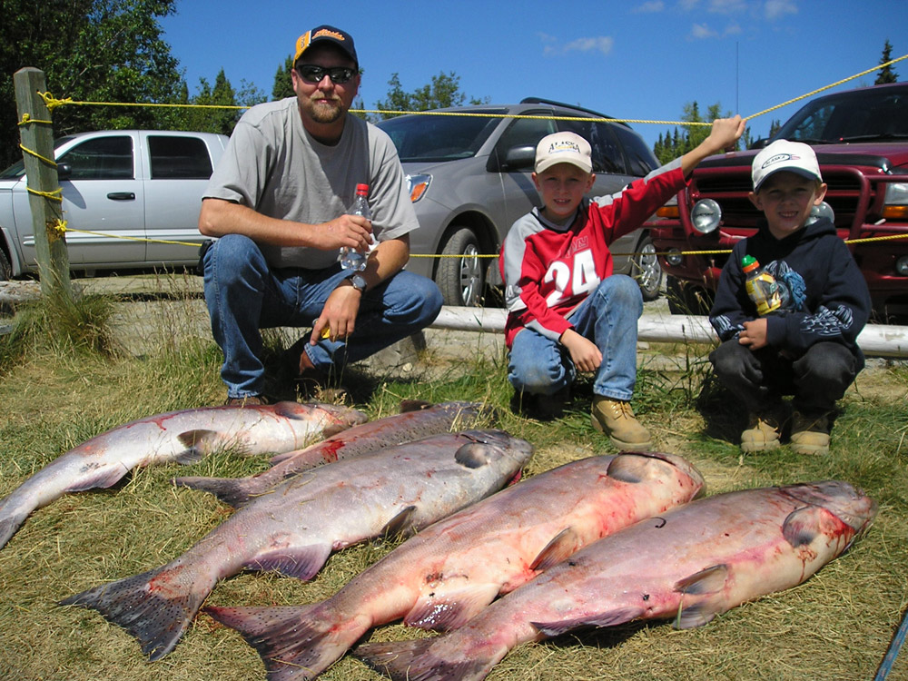 Father Son King Salmon Adventure In Alaska 1000