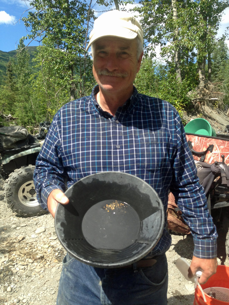 Find Gold While In Alaska With Gold Prosecting.Net 1000