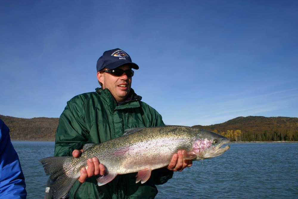 Giant Ranbow Trout Fishing Charters In Alaska 1000