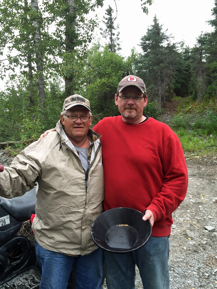 Gold Discovery In Alaska With Alaska Gold Prospecting 1000