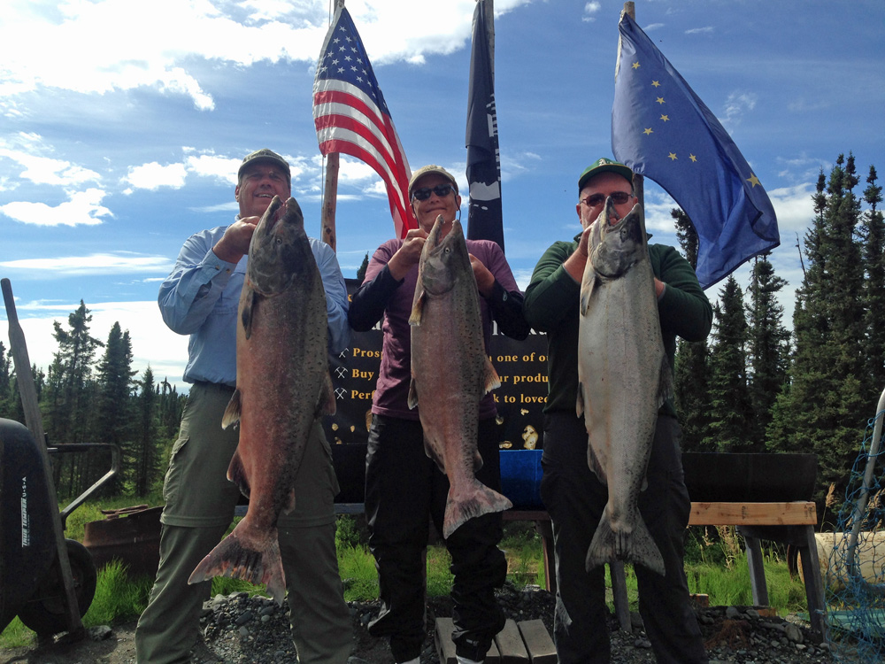 King Salmon Limits With Alaska Fishing And Lodging 1000