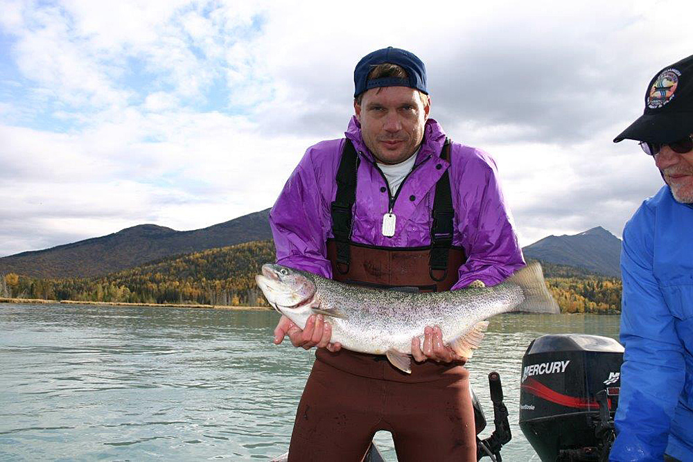 Release The Rainbow Trout Kenai Catch 1000
