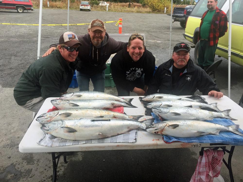 Saltwater King Salmon Fishing In Alaska 1000
