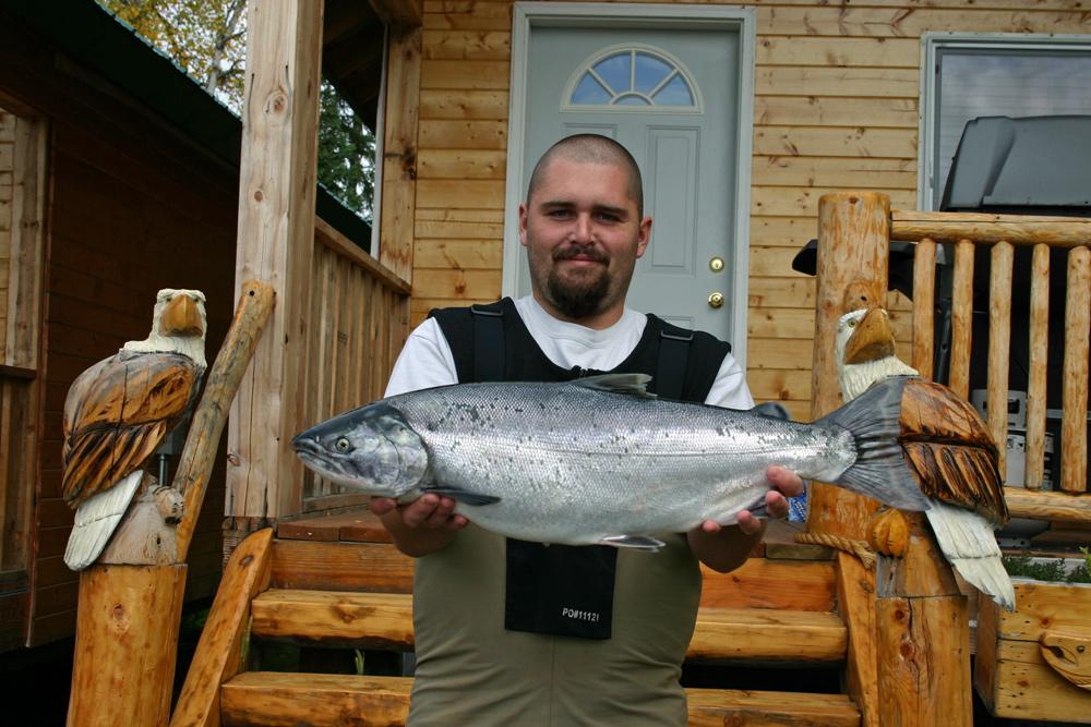 Silver Salmon Fishing Lodge In Alaska 1000