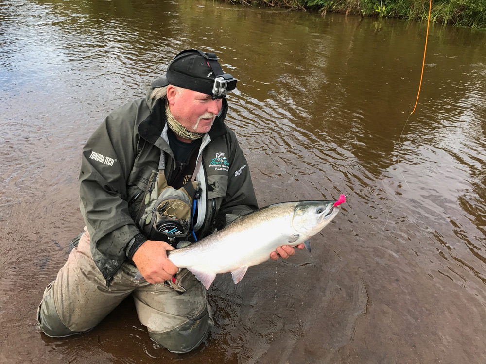 Silver Salmon On The Fly Tyland Vanlier 1000