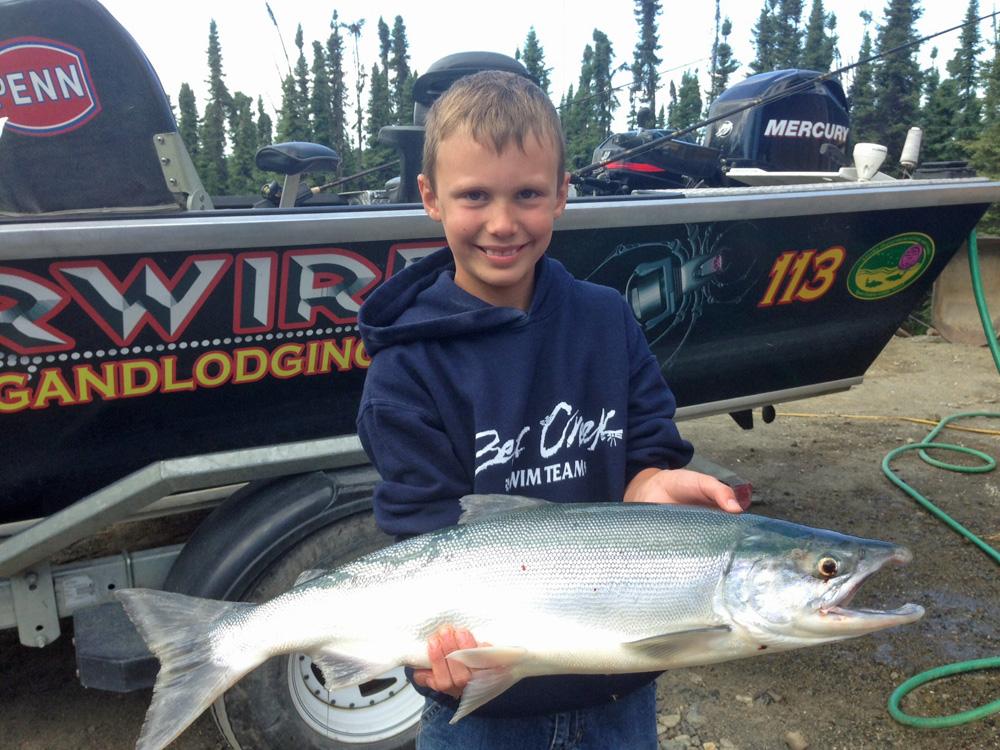 Spider Wire Alaska Sockeye Salmon Fishing 1000