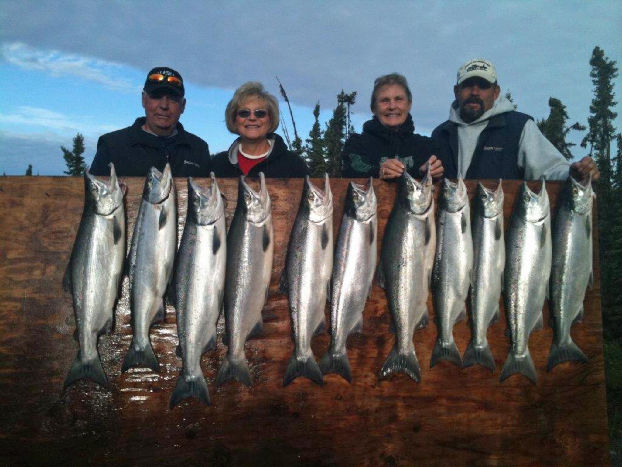 Twilight Silver Salmon Kenai Fishing Trip 1000