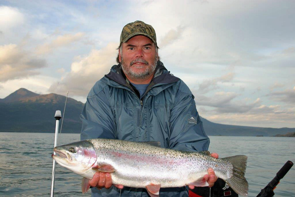 Alaska Rainbow Trout Fishing